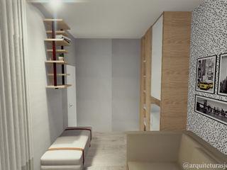 realizearquiteturaS Moderne Schlafzimmer