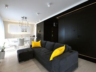 Piotr Stolarek Projektowanie Wnętrz Modern living room