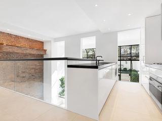 The Pool House GD Arredamenti Cocinas integrales Vidrio Blanco