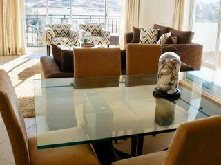 Elite De Elogios غرفة السفرةديكورات واكسسوارات خشب Amber/Gold