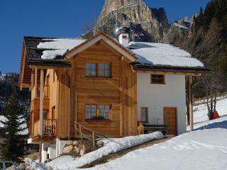 Woodbau Srl Chalets & maisons en bois Bois