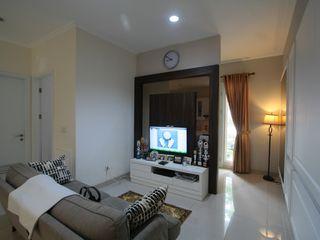 Home sweet home di Grand Galaxy Exxo interior Ruang Keluarga Modern