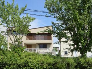 アトリエdoor一級建築士事務所 獨棟房 木頭 Green