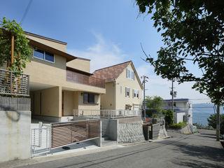 アトリエdoor一級建築士事務所 獨棟房 木頭 Beige
