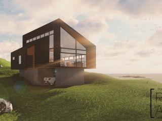 Pro Aus Arquitectos Casas de estilo moderno