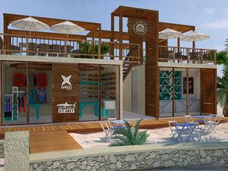 Art.chitecture, Taller de Arquitectura e Interiorismo 📍 Cancún, México. Piscinas de estilo tropical