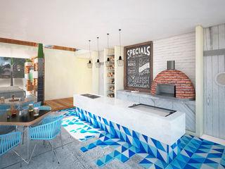 Art.chitecture, Taller de Arquitectura e Interiorismo 📍 Cancún, México. Cocinas de estilo tropical
