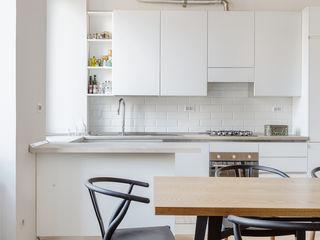 Casa Ostiense Angelo Talia Cucina moderna