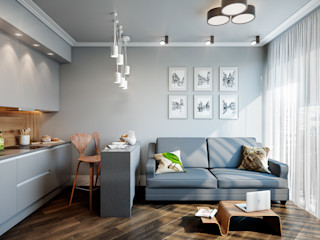 CO:interior Living room Grey
