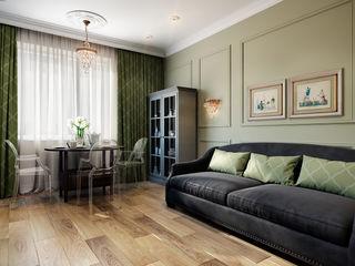 CO:interior Living room Green