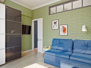 CO:interior Nursery/kid's room Green