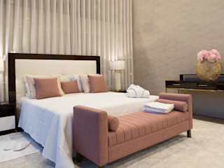 HomeLab Portugal DormitoriosTextiles Algodón Rosa