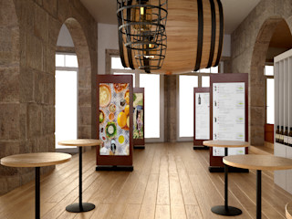 PROJETARQ Wine cellar