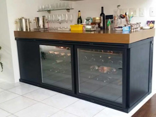 EDR - Adegas Climatizadas Wine cellar Iron/Steel Black