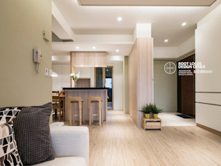 台中林公館 築本國際設計有限公司 客廳