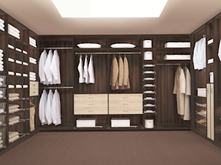 CARE MOBILIARIO MADRID,S.L. Classic style dressing room Wood Brown