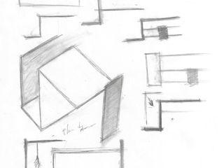 lab arquitectura Casas de estilo minimalista Acabado en madera