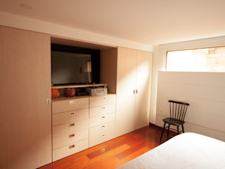 AMR estudio Modern style bedroom