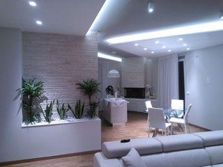 Studio ARCH+D غرفة المعيشة