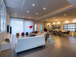 Casa PR Elia Falaschi Fotografo Soggiorno moderno