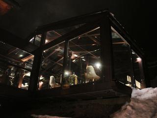LA GRUBA BISTROT cena sotto le stelle archstudiodesign Hotel in stile minimalista Vetro