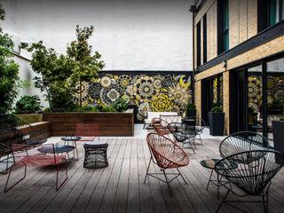 IMAGE'IN Jardinières design sur mesure – Hôtel **** ATELIER SO GREEN Hôtels modernes