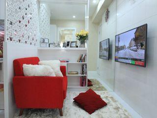COZY PLACE FOR WEEKEND GETAWAY @ GREEN PRAMUKA APARTMENT, EAST JAKARTA PT. Dekorasi Hunian Indonesia (DHI) Ruang Keluarga Modern