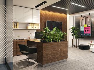 Визуализация офиса продаж Alyona Musina Коммерческие помещения