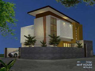 Alfaiz Design Single family home Concrete Grey