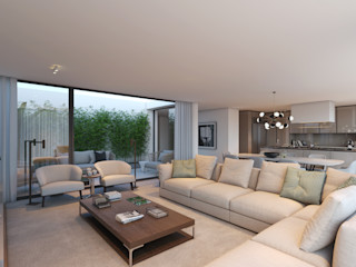 CASA MARQUES INTERIORES Living roomSofas & armchairs