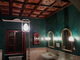 Soffitto a Cassettoni Falegnameria Grelli Bagno in stile classico