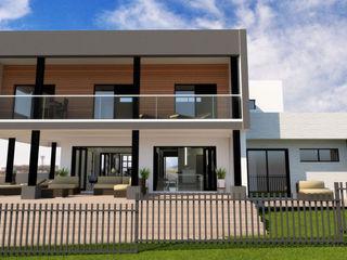 A4AC Architects Rumah tinggal Batu Bata Grey