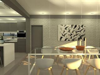 A4AC Architects Ruang Makan Modern