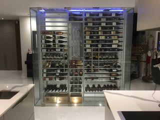 Millesime Wine Racks Винні підвали Дерево Металевий / срібло