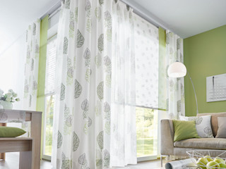 UNLAND International GmbH 窗戶與門窗廉與布簾 布織品 Green