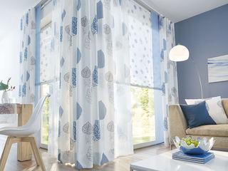 UNLAND International GmbH 窗戶與門窗戶裝飾品 布織品 Blue