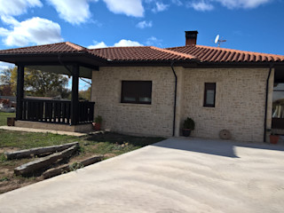ARQUE PIEDRA RECONSTITUIDA SL Casa unifamiliare Cemento Beige