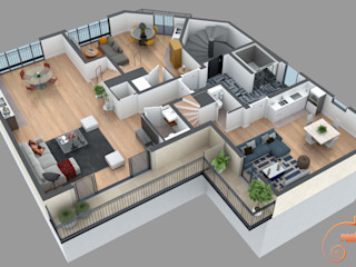 Planos de corte 3D Realistic-design