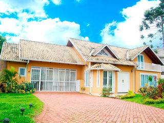Grupo DH arquitetura Terrace house Orange