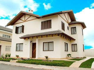 Grupo DH arquitetura Terrace house Beige