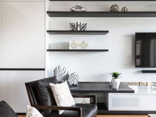 West Leederville Apartment Project Moda Interiors Salones de estilo moderno