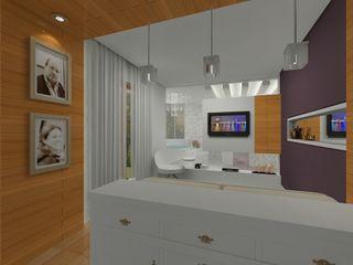 Grupo DH arquitetura BedroomAccessories & decoration White