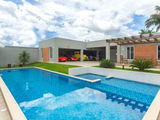 Piscina & Lazer Dani Santos Arquitetura Piscinas de jardim