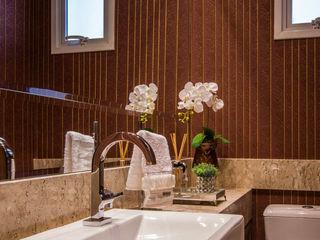 Eveline Maciel - Arquitetura e Interiores Nowoczesna łazienka