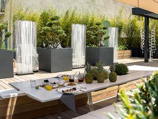 Ensemble de jardinières Image'In pour une décoration ultra design en toit terrasse ATELIER SO GREEN JardinPots de fleurs & vases