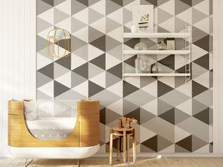 Humpty Dumpty Room Decoration Walls & flooringWallpaper Grey