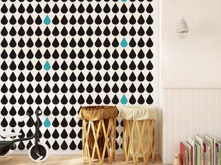 Humpty Dumpty Room Decoration Walls & flooringWallpaper Black