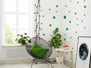 Humpty Dumpty Room Decoration Walls & flooringWallpaper Green