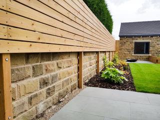 Modern Functional Garden Yorkshire Gardens Сад