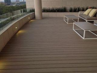 Kiinch Terrace Wood-Plastic Composite Wood effect